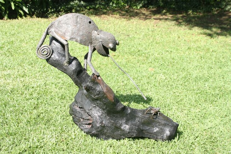 Lawnmower Chameleon