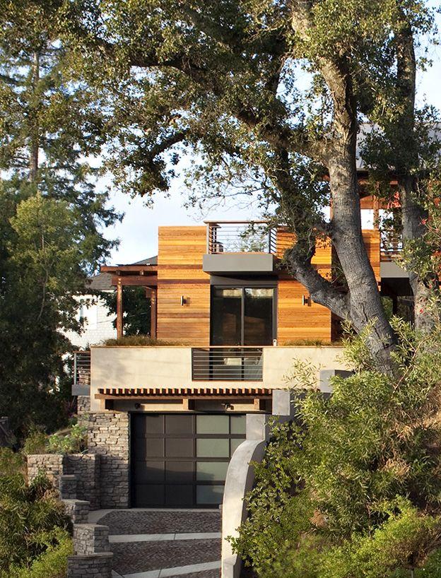 Image Result For Houses On Hillsides Hillside House House Built