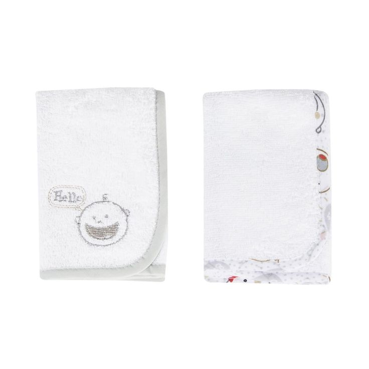 Cotton Facecloths 2-Pack