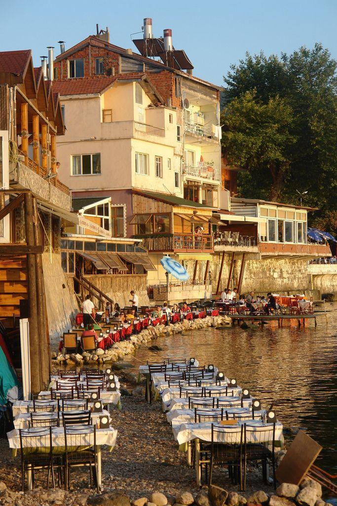 Amasra, a seaside resort on the Black Sea, Turkey