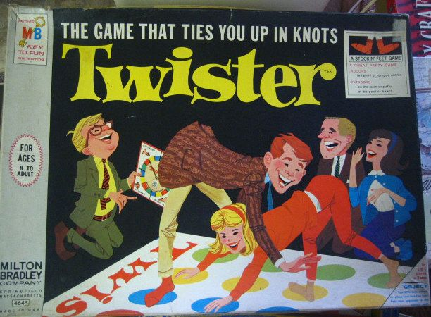 1960s Twister game
