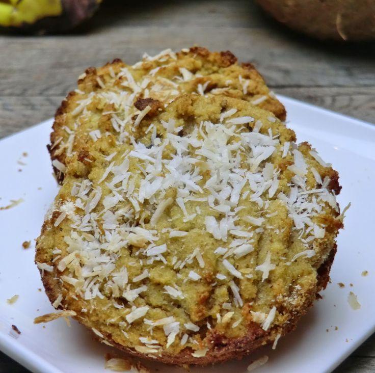 Cookies à la banane, noix de coco et aux fruits secs sans gluten et sans lactose