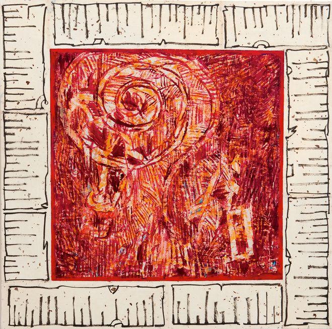 Pierre Alechinsky — A l'heure qu'il est — Galerie Lelong — Exposition