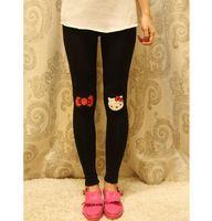New Arrival Black Hello Kitty Leggings Hello Kitty Pants Hello Kitty Trouser for Ladies
