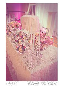 Beautiful Bridal Table.