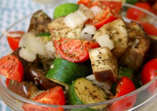 Light & Easy Ratatouille recipe is a flavorful side dish using oregano & minced garlic. A perfect way to use the summer veggies from the garden.