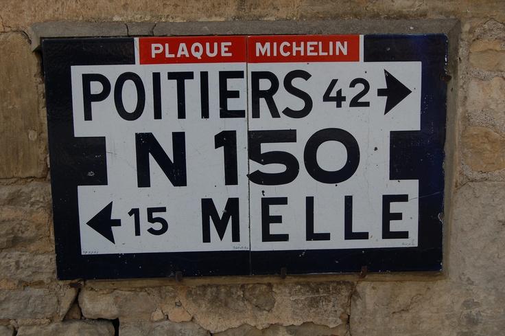 Belle plaque michelin année 1931, patrimoine routier