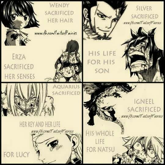 Fairy Tail Tartaros Arc. I cried so hard at Aquarius's key breaking when I read the manga and then harder at the anime. It makes my heart ache just seeing a picture x