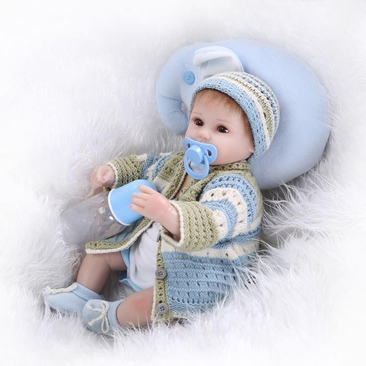 96.66$  Watch here - http://aliqb5.worldwells.pw/go.php?t=32712144809 - New Arrival 40-45 cm Realistic Cheap Reborn Baby Dolls For Sale Gentle Touch Silicone Lifelike Newborn Baby Doll Toys For Kids 96.66$