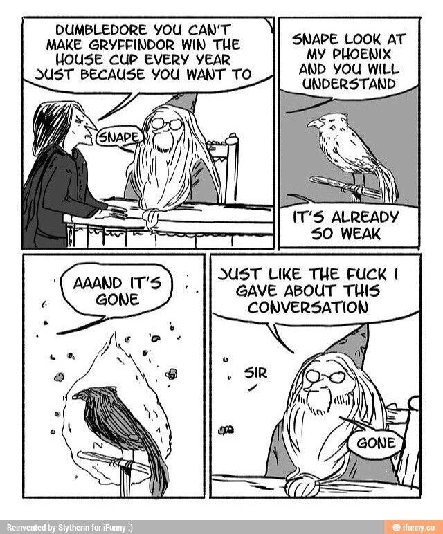 HAHAHAHAHHAAHA...Chamber of Secrets: YOU THINK SLYTHERIN WON? HA! PSYCHE!