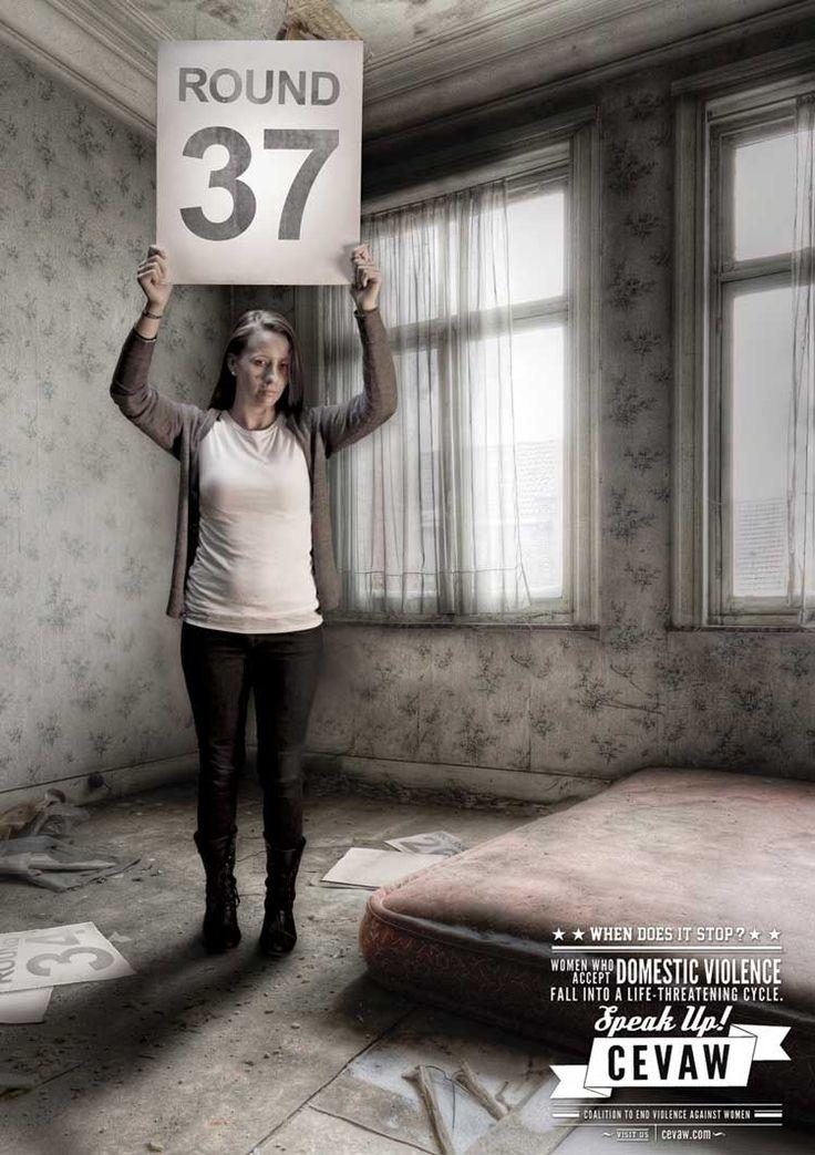 pubblicità contro la violenza sulle donne