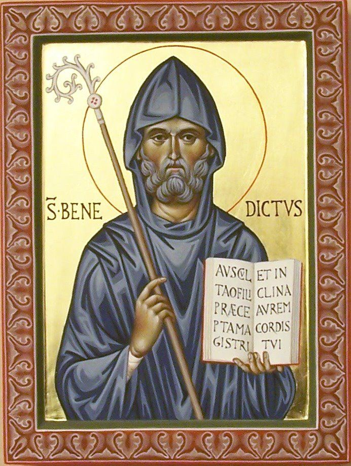 Afbeeldingsresultaat voor heilige benedictus