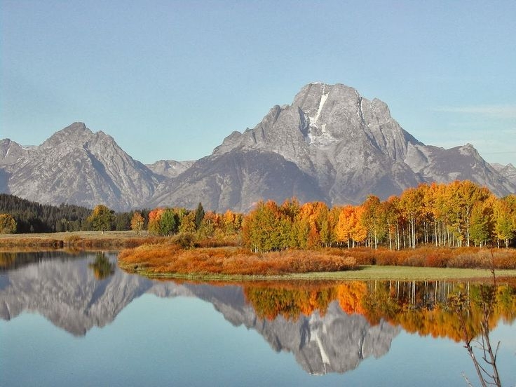 Beautiful National Park in Wyoming and a post on Language. Read more
