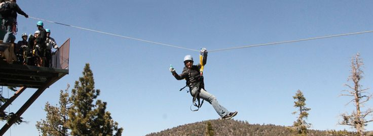 pretty insane and high up! Come check it out! Action Zipline and Big Bear Vacation team up november 1st! Wait and see what we got coming to you!!  Bigbearvacations.com