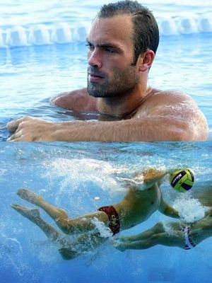 Ryan Bailey Water Polo, USA, 36 Water polo players are essentially rugby players in swimming trunks (and silly hats).
