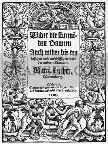 an analysis of luther and the peasants war 1 volume 1 from the reformation to the thirty years' war, 1500-1648 grievances and demands - the twelve articles of the swabian peasants.