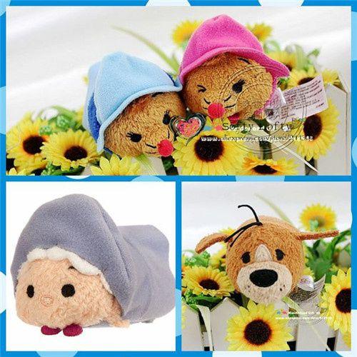 Бесплатная Доставка Фея крестная Suz Perl и Брун плюшевые игрушки 4 шт./лот очиститель экрана плюшевые игрушки эм поклонники коллекция дети подарки
