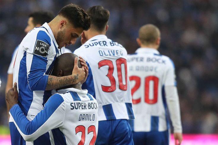 A emoção de Danilo ao fazer o 3-2 no FC Porto-Rio Ave