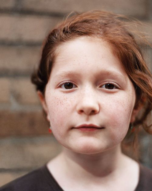 Emma Kenney at nine, when she directed her short The New Girl in Town, which was accepted at the New Jersey International Film Festival