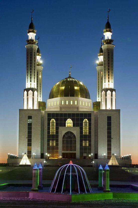 Kazakhstan mosque - Aktobe, Kazakhstan