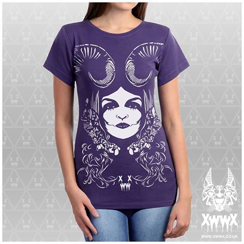 #XWWX #Goddess #Devine #tshirt #purple #tee #tees #tshirts #xwwxgallery #apparel #clothing #design #urban #street #pagan #wear #different #obscure #occult #Elrac #tee #tees #tshirts #xwwxgallery #Nohj #nohjxwwx