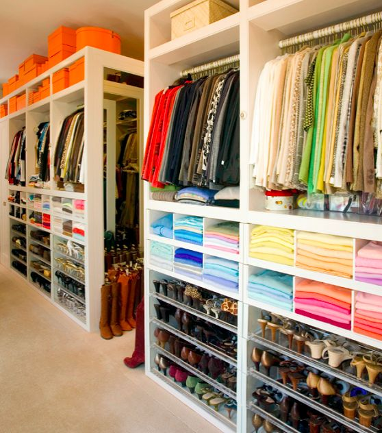 25 Inspirational Organized Closets Mobiliario Etc