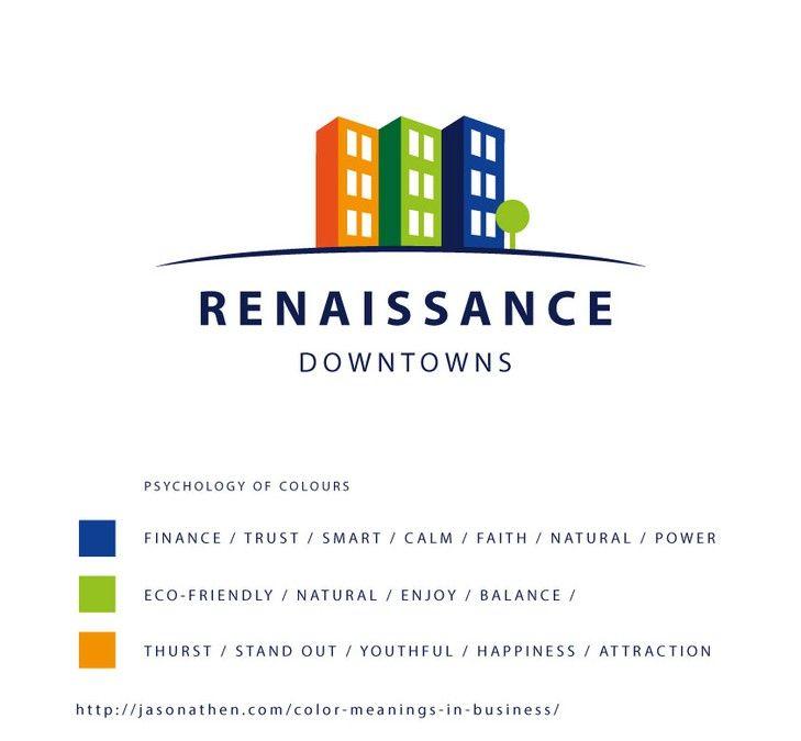 Logo to redefine cities through triple-bottom-line (people planet profit) urban revitalization by Sramosdesign
