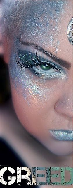 Inspirational fairy makeup idea.