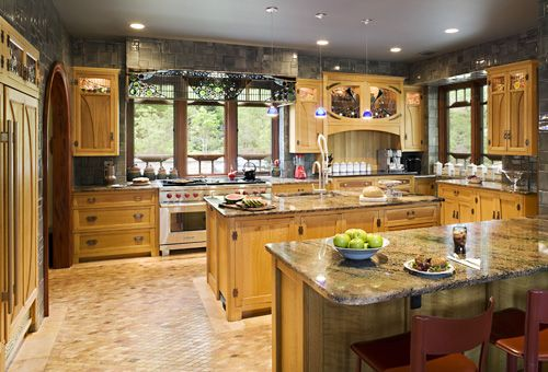 Looking for the ultimate kitchen to go with your Don Gardner Craftsman house plan at www.dongardner.com