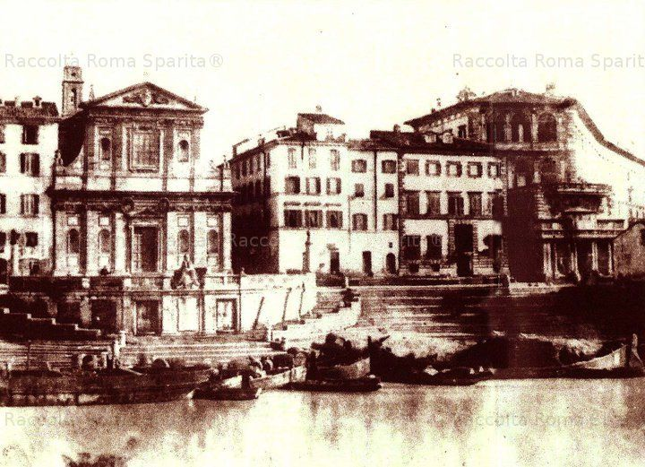 Porto di Ripetta Anno: 1865