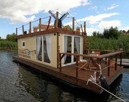 Außergewöhnlich Übernachten für Zwei Übernachtung im Hausboot