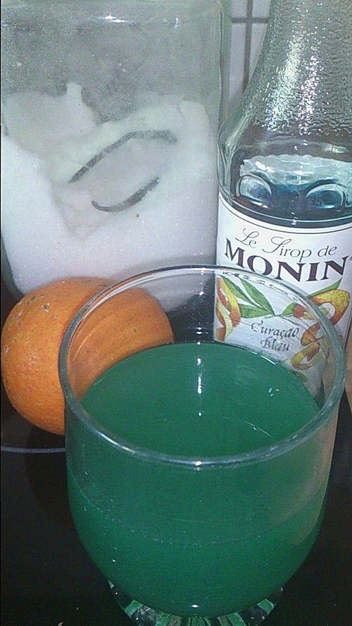 """Wassereis """"Blaue Orange"""""""