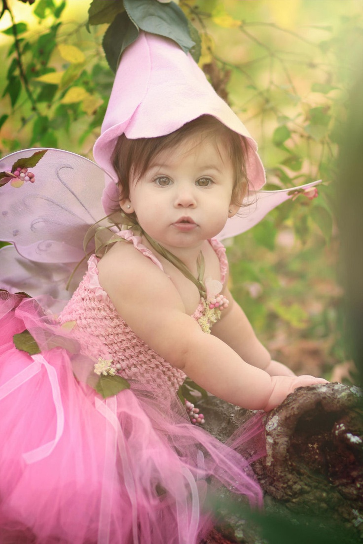 Flower Fairy couture costume (infant toddler) - Honeysuckle  sc 1 st  Pinterest : fairy costumes for baby girl  - Germanpascual.Com