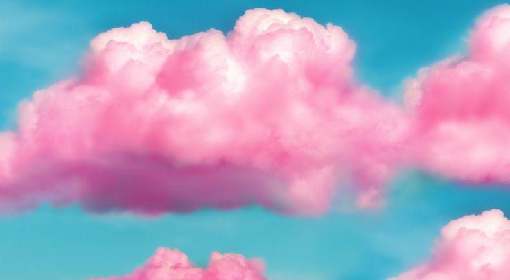 Розовые Облака Обои - Фото база
