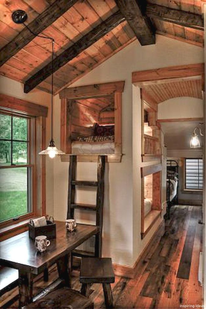 Incredible Tiny House Interior Design Ideas Mountain