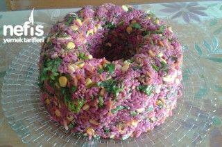 Şalgam Sulu Pirinç Salatası Tarifi