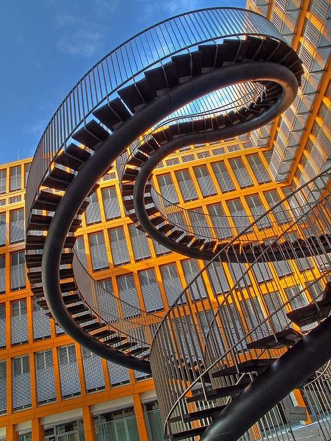 Stairs in Munich