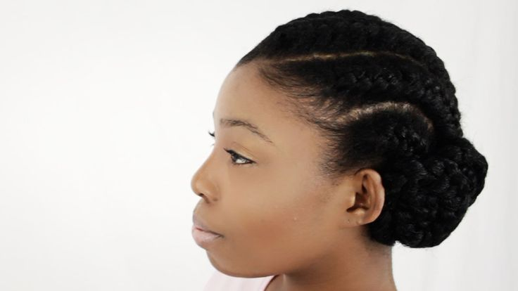 How To Do Goddess Braids With Weave Extensions On Natural Hair Supplies ...