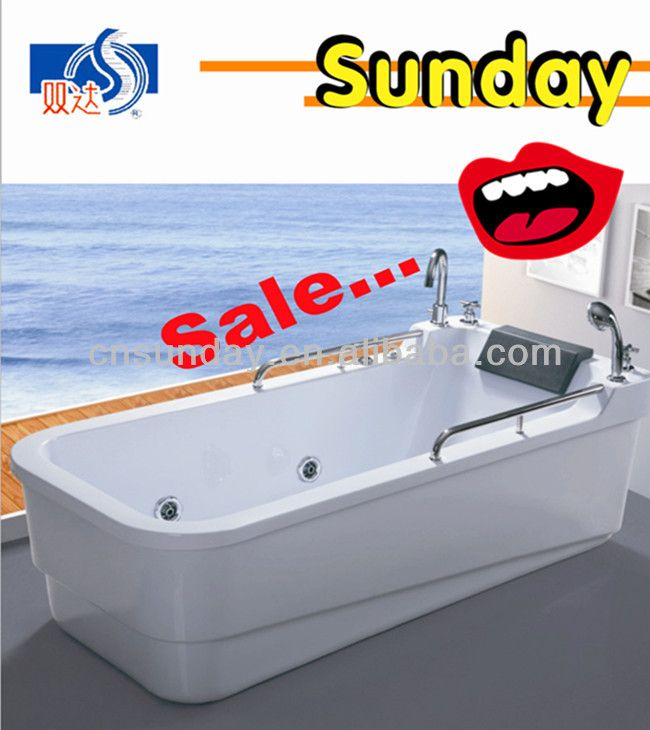 Cheap bathtub price with jets jacuzzi function $300~$310