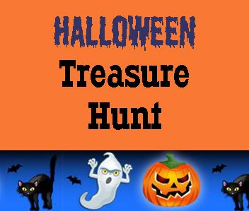 Free Printable #Halloween Treasure Hunt for #Kids