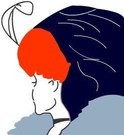 Optische Täuschung - Kippbild: Alte oder junge Frau