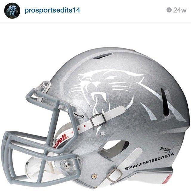 #TBT the first helmet I ever made #Carolina #Panthers #CarolinaPanthers…