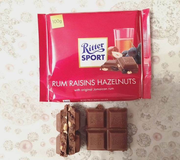 NEW REVIEW: Ritter Sport Rum Raisins Hazelnuts. #chocolate #rittersport #rumrasin #review #foodblog #blog