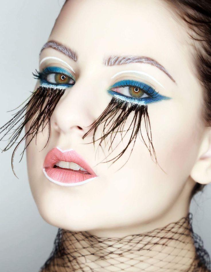 #eyelashes  about blue cateyes and extreme eyelashes 💄💄💄💄