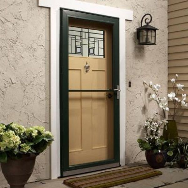 They paid about $700.00 for it (including installation I am guessing as the doors are about half that price.). Now they find out from the homeowners ... & Painting new Andersen 4000 Bronze storm door - Paint Talk ...