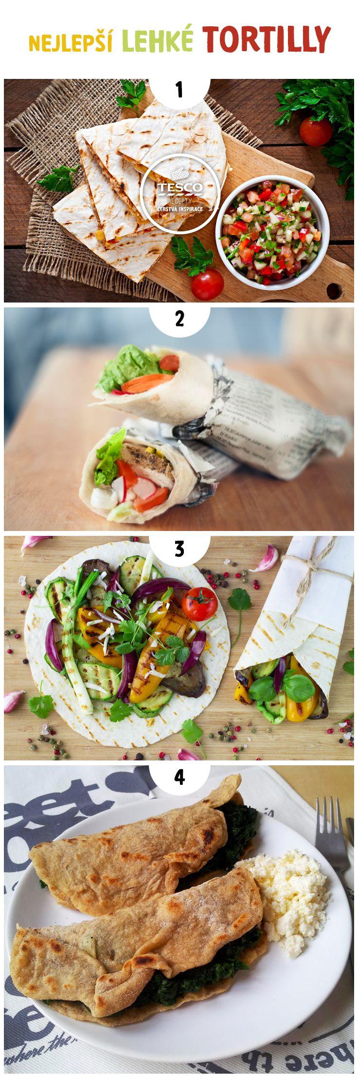 Připravte lehkou tortillu jako ideální oběd pro horký letní den!
