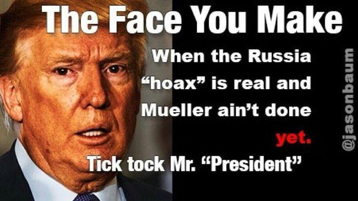 Tick tock. Tick tock Trump.