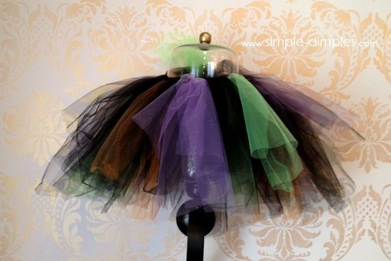Witch TuTu Costume Tutorial