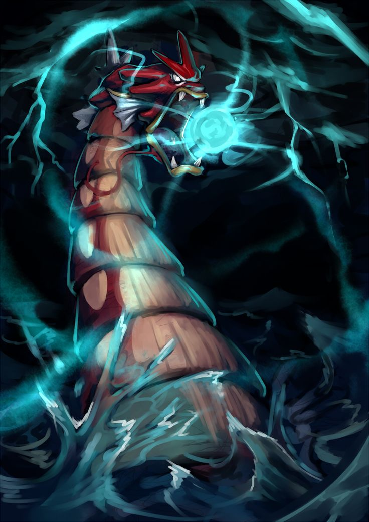 Fav Flying Type - Gyarados by KoiDrake.deviantart.com on @deviantART