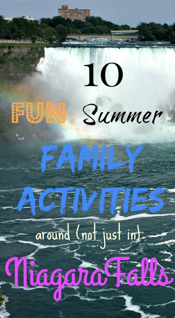 10 Great Family Activities Around (Not Just At) Niagara Falls You Must Do This Summer and a chance to win a 2-night stay at any Radisson Hotel in the Americas! @Radisson #ad